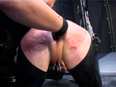 Bitch Takes Loser to Dungeon for Sensual Domination