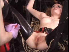 Pussy torture in the dungeon
