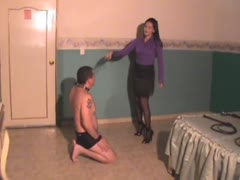 Executive hardcore whipping by a sohpisticated woman
