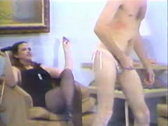 Vintage femdom abuse to submissive slaves