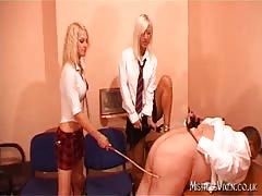 Two femdom naughty college girls