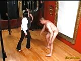 Slave ganged up in ball busting