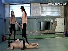 Topless bitches merciless humiliation