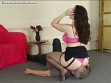 Insurance girl smothering loser guy