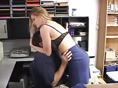 Breast smothering in the office